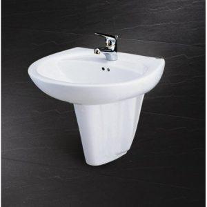 Chậu rửa mặt lavabo Caesar L2220/P2436 giá rẻ khuyến mãi tốt nhất