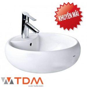 Chậu rửa mặt lavabo TOTO giá tốt khuyến mãi tại mỹ thọ Tiền Giang